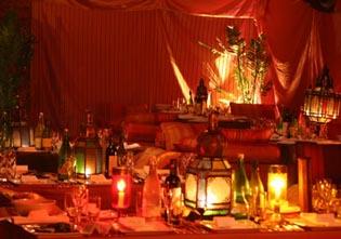 Moroccan themed reception venue wow inspiration for Arab wedding decoration ideas